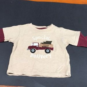 Long sleeve top 6-12 mo! Christmas shirt!